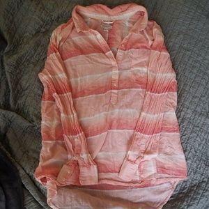 A light weight button down shirt plus size XXL